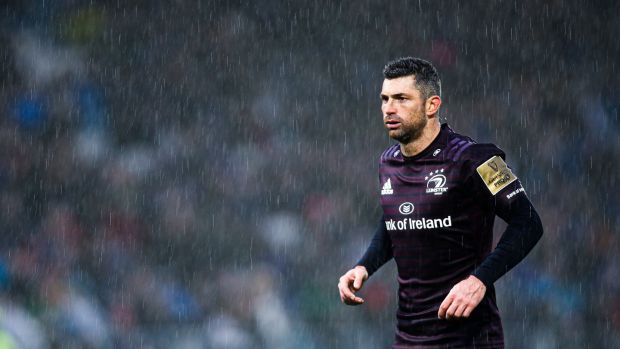 Rob Kearney has endured a frustrating season with Leinster. Photograph: Tommy Dickson/Inpho