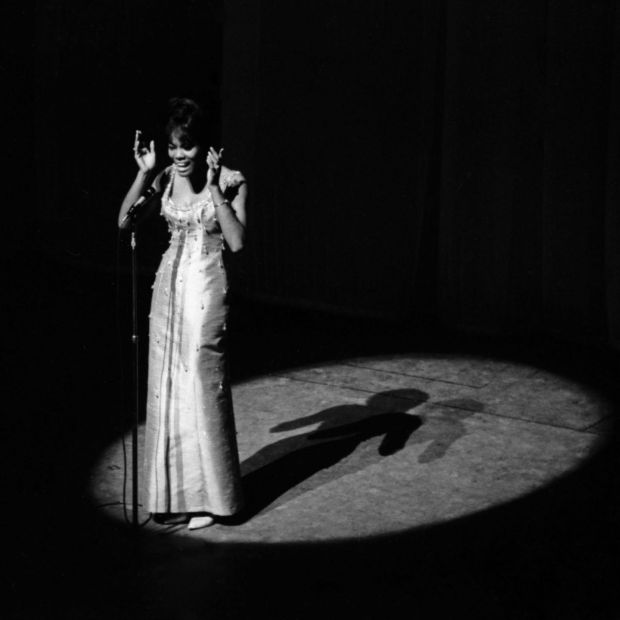 Dionne Warwick performing in Paris in 1964. Photograph: Photo12/UIG via Getty