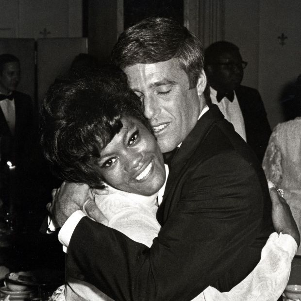 Dionne Warwick and Burt Bacharach in New York in 1968. Photograph: Ron Galella/RGC via Getty