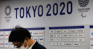 The Tokyo Olympics has been postponed for one year until 2021 because of the coronavirus outbreak. Photograph: AP