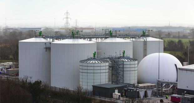 The new bioenergy plant at Huntstown, Dublin