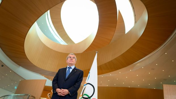 IOC president Thomas Bach. Photograph: Fabrice Coffrini/AFP via Getty Images