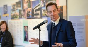 An RTÉ spokeswoman confirmed Ryan Tubridy was seeing a doctor about his cough. Photograph: Dara Mac Donaill
