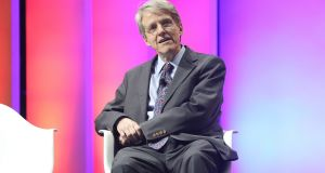 Nobel Prize winner Robert Shiller and author of Narrative Economics: 'A lot of what happens economically actually depends on the stories we tell each other and a lot of what people do is not really optimal for them.' Photograph:  Taylor Hill/Getty Images