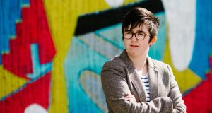 Journalist and author Lyra McKee pictured  in Belfast in 2017. File photograph: Jess Lowe/AFP/Getty Images