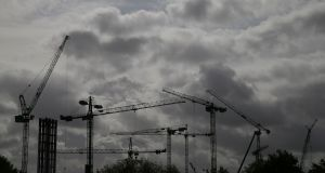 'Halting everything but essential building projects boils down to choosing what is 'essential' in the first place.' File photograph: Nick Bradshaw/The Irish Times