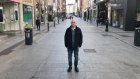 Grafton Street, a deserted and quiet wonderland