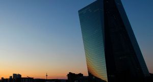 The ECB has consistently said that the issuer limits are not a binding constraint on its asset purchases. Photograph: AFP via Getty