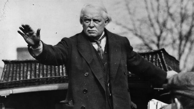 David Lloyd George, pictured in 1925. Photograph: Getty