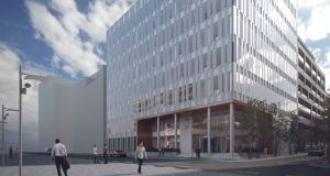 76 Sir John Rogerson's Quay comprises 75,498sq ft of office space across two blocks.