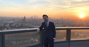 Brian Gleeson is general manager of the Radisson Blu Olympiyskiy Hotel in Moscow