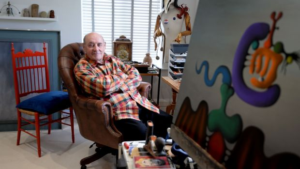 "Desmond Morris: ""The worst word in the English language is retirement."" Photograph: Alan Betson"