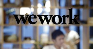 WeWork said the affected person's office had been cleaned and sanitised along with all shared spaces and communal areas. Photograph: Bloomberg