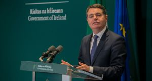 Minister for Public Expenditure and Reform Paschal Donohoe: updated guidelines to public service employers were issued by the Department of Public Expenditure and Reform on Friday. File photograph: Gareth Chaney/Collins