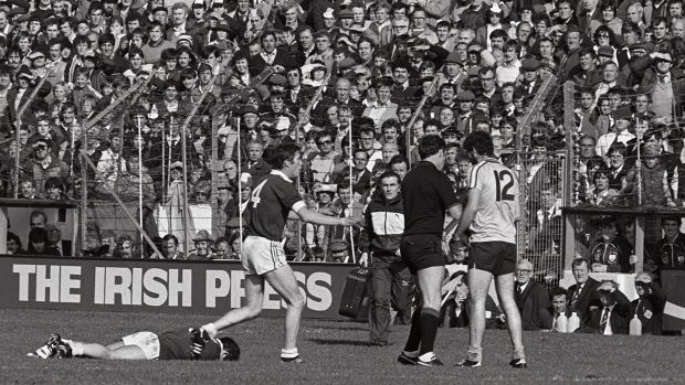 The first time I didn't pay into an All-Ireland was the 1983 football final between Dublin and Galway when pressure on the gates led to them being opened up on the Canal End, on Garda instructions. Photograph: Billy Stickland/Inpho