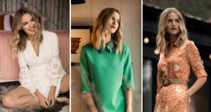 From FeeG's spring-summer collection. Laura Whitmore, Jo Malone and Kathryn Thomas are some of the collection's high-profile fans