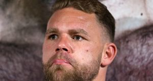 Billy Joe Saunders has had his boxing licence suspended pending a hearing into comments made in a social media video. Photograph:  Steven Paston/PA Wire