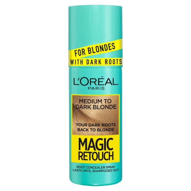 L'Oreal Paris Magic Retouch for Blondes with Dark Roots, €13.99 at boots.ie
