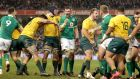 Australia are due to play Ireland in Dublin in November. Photograph: Morgan Treacy/Inpho