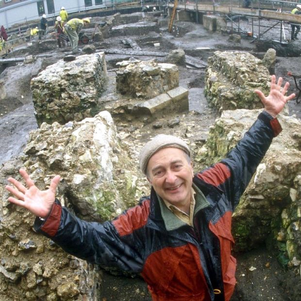 Time Team: Tony Robinson presented the archaeology show from 1994 to 2014. Photograph: Channel 4