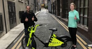 On your bike: Healthcare workers will get on the road thanks to free use of Moby electric  bikes