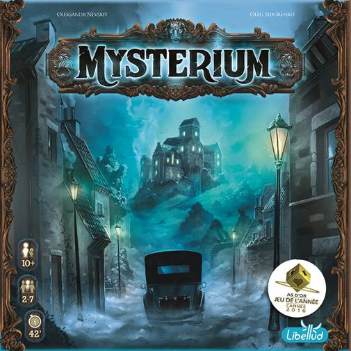 Mysterium is the perfect game for those socially isolating in a haunted mansion