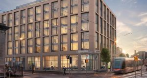 Located next to the Four Courts in Dublin, the Hampton by Hilton Riverhouse Hotel is set to comprise 249 bedrooms.
