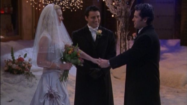 One of McLean's Emmy-nominated Friends episodes - The One With Phoebe's Wedding