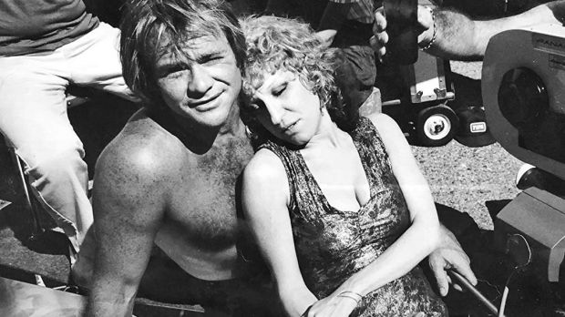 McLean and Bette Midler on the set of The Rose