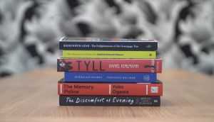 The six titles on the 2020 International Booker Prize shortlist