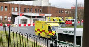 Something else that has been highlighted by the emergency is the quality of our health service and the commitment and bravery of the people who work in it. Photograph: Alan Betson
