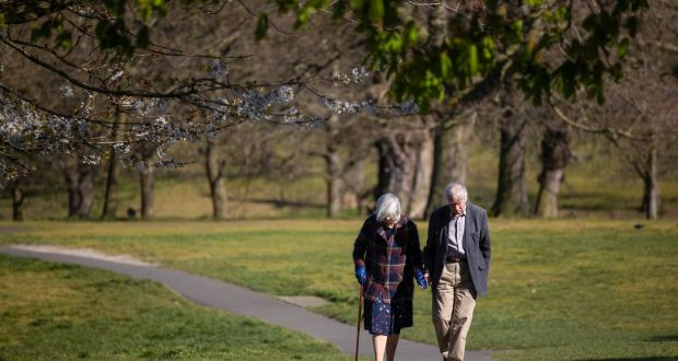 Researchers predict that people aged over 70 will account for 63% t of Covid-19 deaths in a country such as Australia, even though they make up just 11%  of the population there.  Photograph: Simon Dawson/Bloomberg
