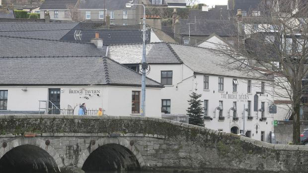 The Bridge Tavern, Wicklow town. Photograph: Nick Bradshaw