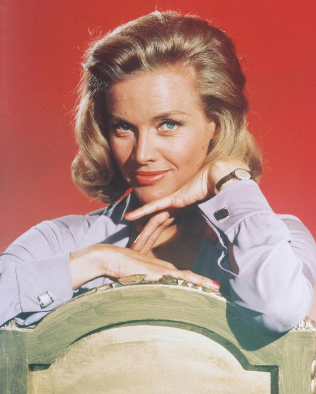 Honor Blackman: 'I've only seen Goldfinger twice: once at the premiere and once at the 50th anniversary'. Photograph: Silver Screen Collection/Getty