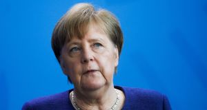 "German chancellor Angela Merkel: ""It must be in the interest of everyone and of Germany that Europe emerges stronger from this test."" Photograph: Markus Schreiber"