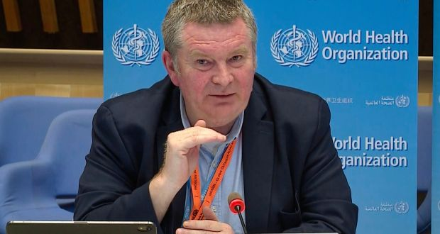 World Health Organisation (WHO) Health Emergencies Programme Director Michael Ryan Photograph: AFP via Getty Images)