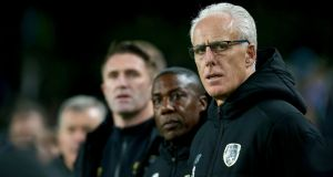 Mick McCarthy's second tenure in charge of the Republic of Ireland has come to a premature end. Photograph: Tommy Dickson/Inpho