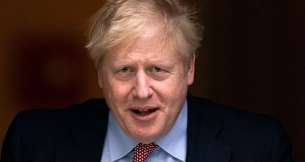 British prime minister Boris Johnson who has been moved to intensive care after his coronavirus symptoms worsened. Photograph: Will Oliver/EPA