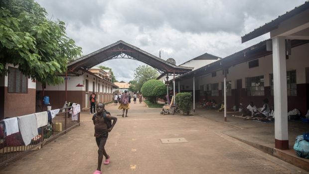 Lacor Hospital, Gulu, where people who contracted Ebola between 2000 and 2001 were treated. Photograph: Sally Hayden
