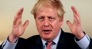 "Boris Johnson: ""He has not required mechanical ventilation or non-invasive respiratory support."" Photograph: Simon Dawson/Reuters"