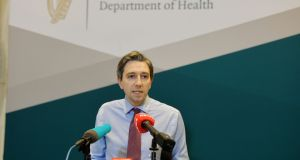 Minister for Health Simon Harris said he will sign the regulations on Tuesday night. Photograph: Alan Betson/The Irish Times