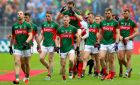 Mayo parade before the 2016 All-Ireland final against Dublin. Photograph: James Crombie/Inpho