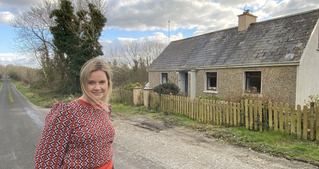 Lisa Smyth works as a technical adviser from her home – her late grand aunt's cottage –  in Darragh, Co Clare.