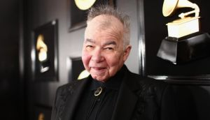 John Prine, who died yesterday, in February 2019. Photograph: Rich Fury/Getty for the Recording Academy