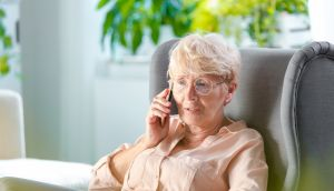 Do you chat regularly to family and friends on the phone or online, or are you lonely? Photograph: iStock