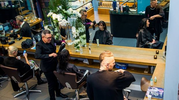 Busy times at Moyo Hair and Beauty in Dublin 2.