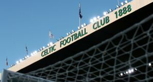 Celtic are set to be awarded the Scottish title with clubs due to vote before the start of next week. Photograph: Steve Welsh/PA Wire.