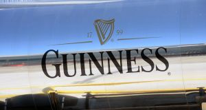 Guinness parent Diageo, the world's largest spirits maker, abandoned its annual forecast for sales and profit growth in response to the coronavirus pandemic. Photograph: Eric Luke