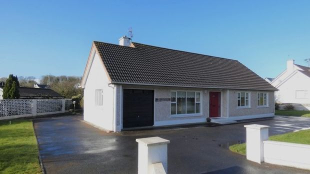 The four-bedroom house in Ennis, Co Clare is detached.