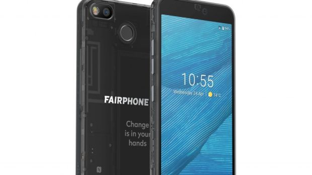 A Fairphone is designed for durability; so it can be repaired, refurbished and reused. Batteries and camera parts are replaceable and work on open-source software
